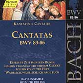 Edition Bachakademie Vol 27 - Cantatas BWV 83-86 / Rilling