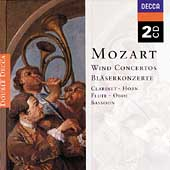 Mozart: Wind Concertos / Tuckwell, de Peyer, Maag, et al