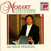 Mozart: Piano Sonatas K 310, 331 & 533 / Murray Perahia