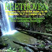 Beethoven: Symphonies 4 & 7 / Leibowitz, Royal Philharmonic