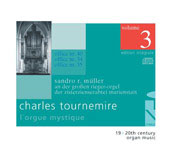 Tournemire: L'Orgue Mystique Vol 3 / Sandro Muller