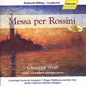 Messa per Rossini / Rilling, Quivar, Agache, Wagner, et al