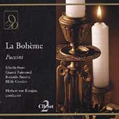 Puccini: La Boh&egrave;me / Karajan, Freni, Raimondi, et al