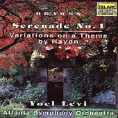 Brahms: Serenade no 1, Variations on Haydn / Yoel Levi