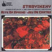 Stravinsky: Rite of Spring, Jeu de cartes / Svetlanov, USSR SO