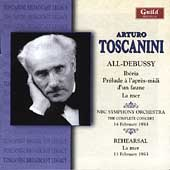 Debussy: Iberia, La mer, etc / Toscanini, NBC Symphony