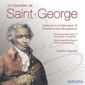Chevalier de Saint-George: String Quartets Op. 14 / Apollon