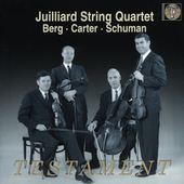 Berg, Carter, Schuman / Juilliard String Quartet