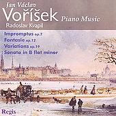 Vorisek: Piano Music - Impromptus, Fantasie, etc / Kvapil