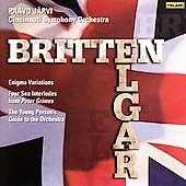 Britten, Elgar / J&#228;rvi, Cincinnati SO