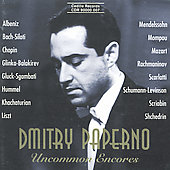 Uncommon Encores / Dmitry Paperno