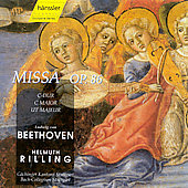 Beethoven: Mass in C / Rilling, Van Kampen, Danz, et al