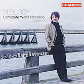 Debussy: Complete Works for Piano Vol 1 / Bavouzet