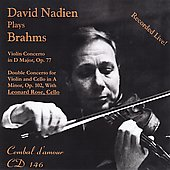 Brahms: Violin Concerto in D Major Op 77