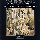 Ravel: Works for Violin & Piano / Sitkovetsky, Davidovich
