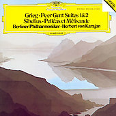 Grieg: Peer Gynt Suites 1 & 2;  Sibelius / Karajan