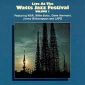 Various Artists: Live at the Watts Jazz Festival, Vol. 1
