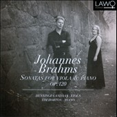 Brahms: Sonatas for Viola & Piano Op. 120 / Hanninge Landaas, viola; Tim Horton, piano