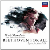 Beethoven For All: The Complete  Symphonies 1-9 / Daniel Barenboim