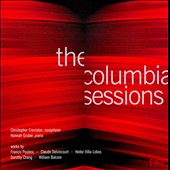 The Columbia Sessions / Christopher Creviston, saxophone; Hannah Gruber, piano