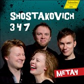 Shostakovich: String Quartets Nos. 3, 4, 7 / Meta4