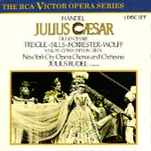 Handel: Julius Caesar / Rudel, Treigle, Sills, Forrester