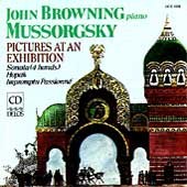 Mussorgsky: Pictures at an Exhibition / John Browning
