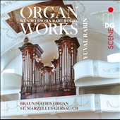 Mendelssohn: Organ Works - Three Preludes and Fugues, Op. 37 / Yuval Rabin, organ