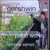 Gershwin: Song Book; Three Preludes; Promenade; Impromptu in two keys / Corinna Simon, piano