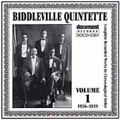 Biddleville Quintette: Complete Recorded Works, Vol. 1