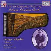 Bach: The Six Keyboard Partitas Vol 1 / Schepkin
