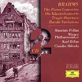 Brahms: The Piano Concertos, etc / Pollini, B&ouml;hm, Abbado