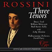Rossini - Three Tenors / Ford, Matteuzzi, Kelly, Parry