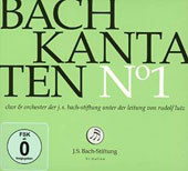 J.S. Bach: Cantatas, Vol. 1 / Choir & Orchestra of the J.S. Bach Foundation; Lutz