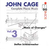 Cage: Complete Piano Music Vol 3 / Steffen Schleiermacher