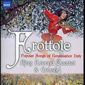 Frottole: Popular Songs of Renaissance Italy / Ring Around Consort & Quartet