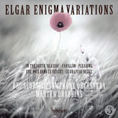 Elgar: Enigma Variations; In the South 'Alassio' / Martin Brabbins, BBC Scottish Symphony Orchestra