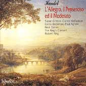 Handel: L'Allegro il Peseroso ed il Moderato / King, et al