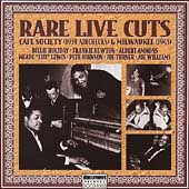 Various Artists: Rare Live Cuts Cafe Society