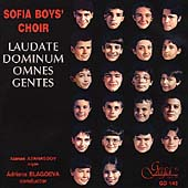 Laudate Dominum omnes gentes / Sofia Boys' Choir