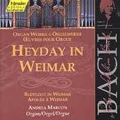 Edition Bachakademie Vol 92 - Heyday in Weimar / Marcon