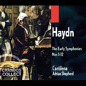 Haydn: The Early Symphonies no 1-12 / Shepherd, Catilena