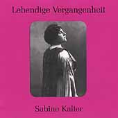 Lebendige Vergangenheit - Sabine Kalter