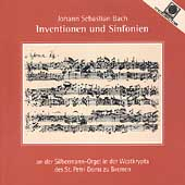 Bach: Inventionen und Sinfonien / Wolfgang Baumgratz