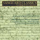 Brahms: The Piano Quartets / Schneider, Trampler, et al