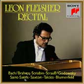 Leon Fleischer Recital - Bach/Brahms, Scriabin, Saint-Sa&#235;ns