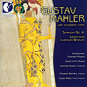 Mahler: Symphony no 4 / Slowik, Smithsonian Chamber Players