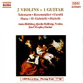 2 Violins + 1 Guitar / H&ouml;lbling, H&ouml;lbling, Zsapka