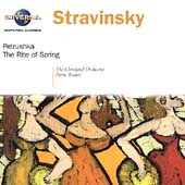 Stravinsky: P&#233;trouchka, Le Sacre du Printemps / Boulez