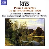 Ries: Piano Concertos Vol 1 / Hinterhuber, et al